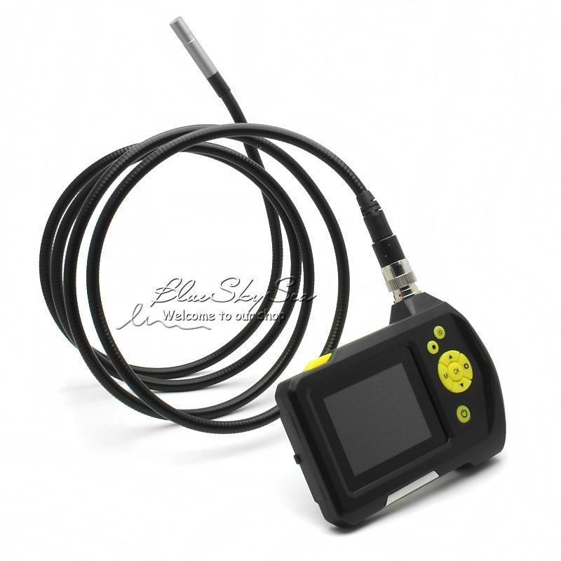 Endoscope Inspection Camera NTS100R Borescope 3M Snake Tube CAM Battery 8 2MM LED Snake Inspection Tube