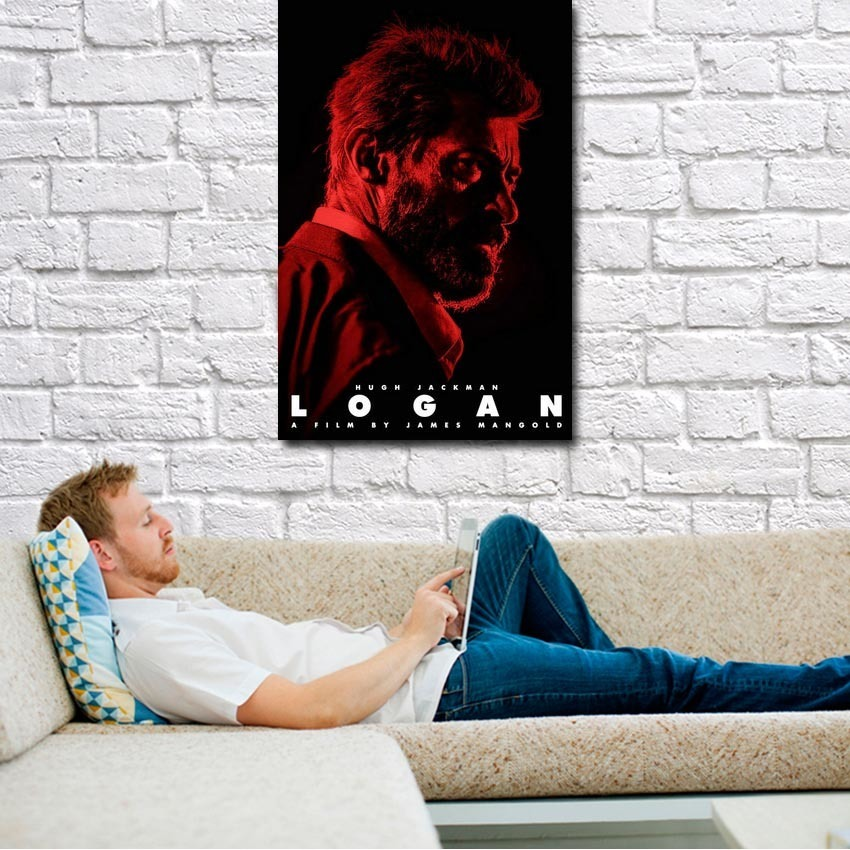2017 LOGAN Wolverine 3 X Men Movie Silk Or Canvas Poster 13x20 24x36 inch Pictures For Living Room Decor (cilck see to more)