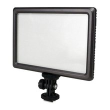 EDT-Nanguang Luxpad22 Pro Ultra Thin 112-LED 11W Video Light Pad for Canon Nikon DSLR Camera DV Camcorder