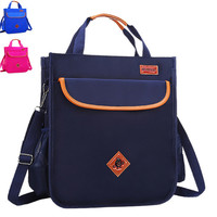 NEW Waterproof Tutoring Bag Elementary School Students Grade 3 5 Schoolbag Tutorials Bags Children Reflective Safe