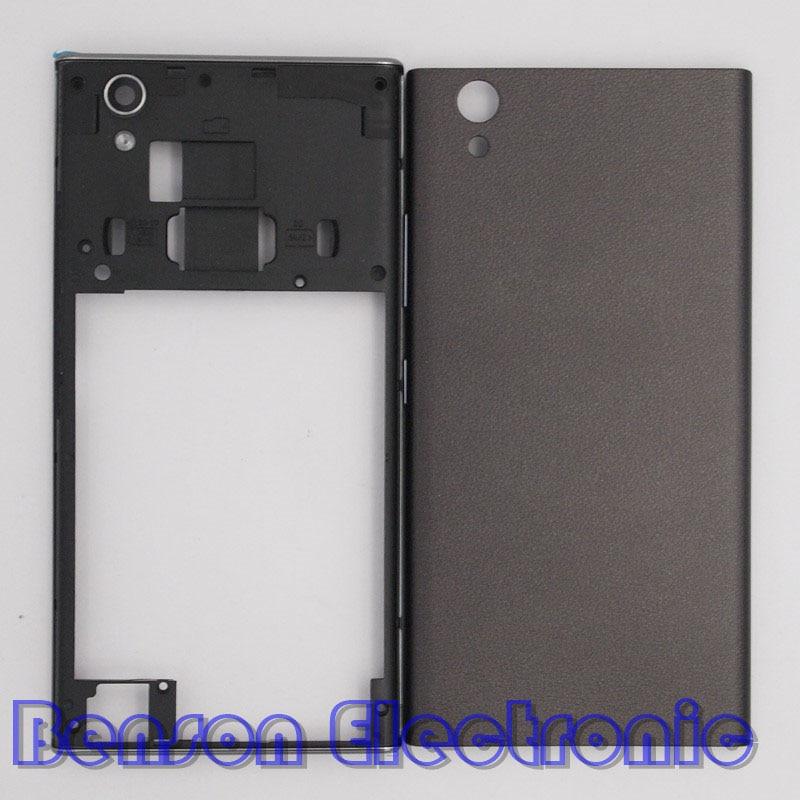 bilder für Baansam new mittleren rahmen batterie rückseitige abdeckung für lenovo p70 p70-a p70-t gehäuse case mit antenne + power lautstärketasten