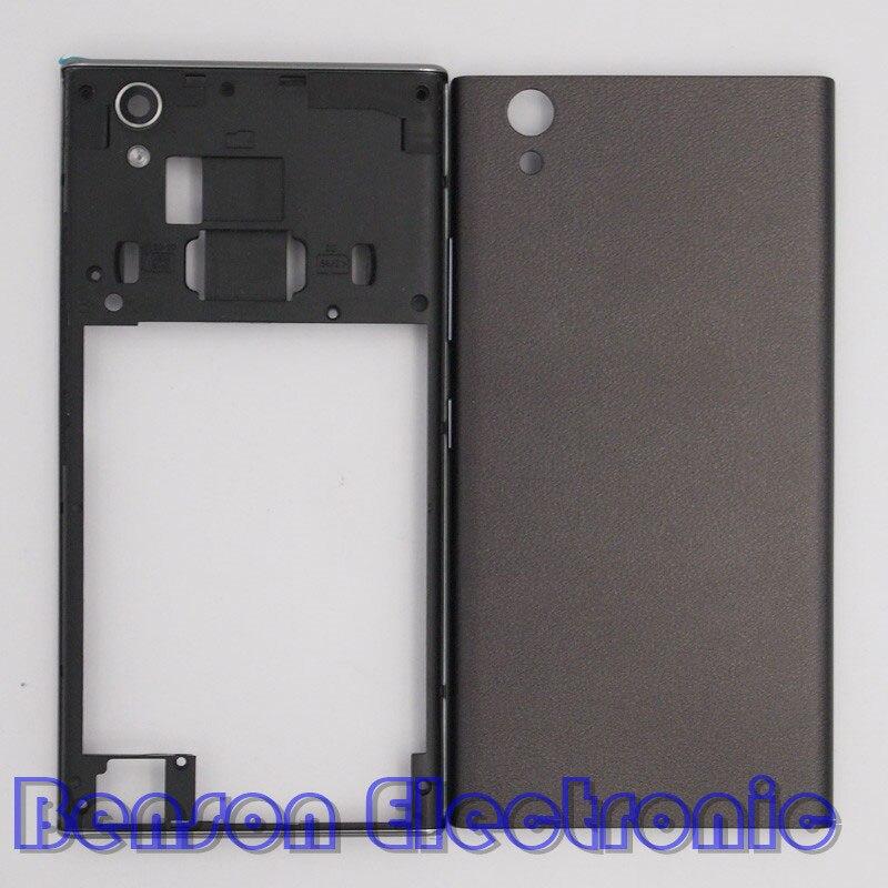 imágenes para Baansam nueva tapa de la batería de la contraportada para lenovo p70 p70-a p70-t vivienda case con antena + botones de volumen de energía