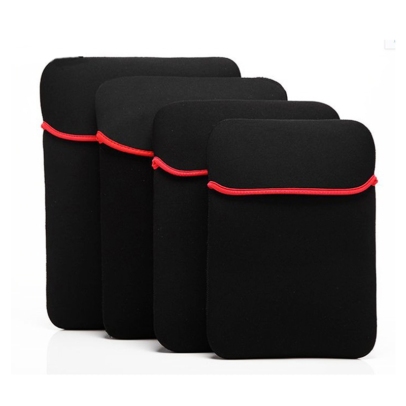 Hot Sell Universal Black Pouch Sleeve Laptop Bag Case For Tablet PC 7
