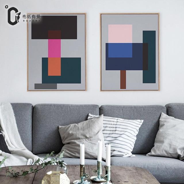 aliexpress : grau leinwand abstrakte malerei leinwand bilder, Wohnzimmer