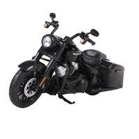 Maisto 1:12 2017 harley road king special black motorcycle diecast kids motorbike model die cast motorcycle toy model 32336