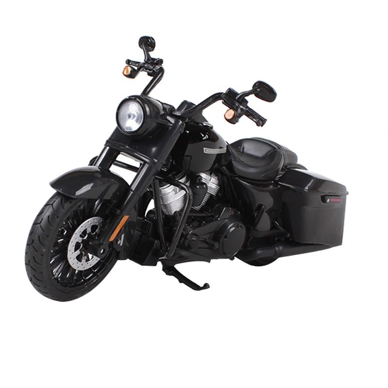 Maisto 1:12 2017 harley road king speciale zwarte motorfiets diecast - Auto's en voertuigen
