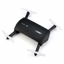 Original JJRC H37 ELFIE 4CH 6-Axis Gyro WIFI FPV Mini Drone RC Quadcopter con Cámara HD Plegable g-sensor RC Dron helicóptero