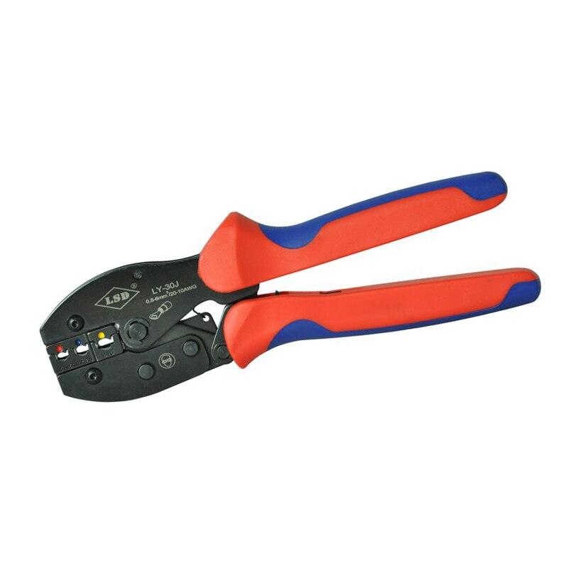 Werkzeuge Crimpen Werkzeug Ly-30j Für Crimpen 0,5-6mm2 Isolierte Terminals Kabel Anschlüsse Crimper Zangen Hand Werkzeuge