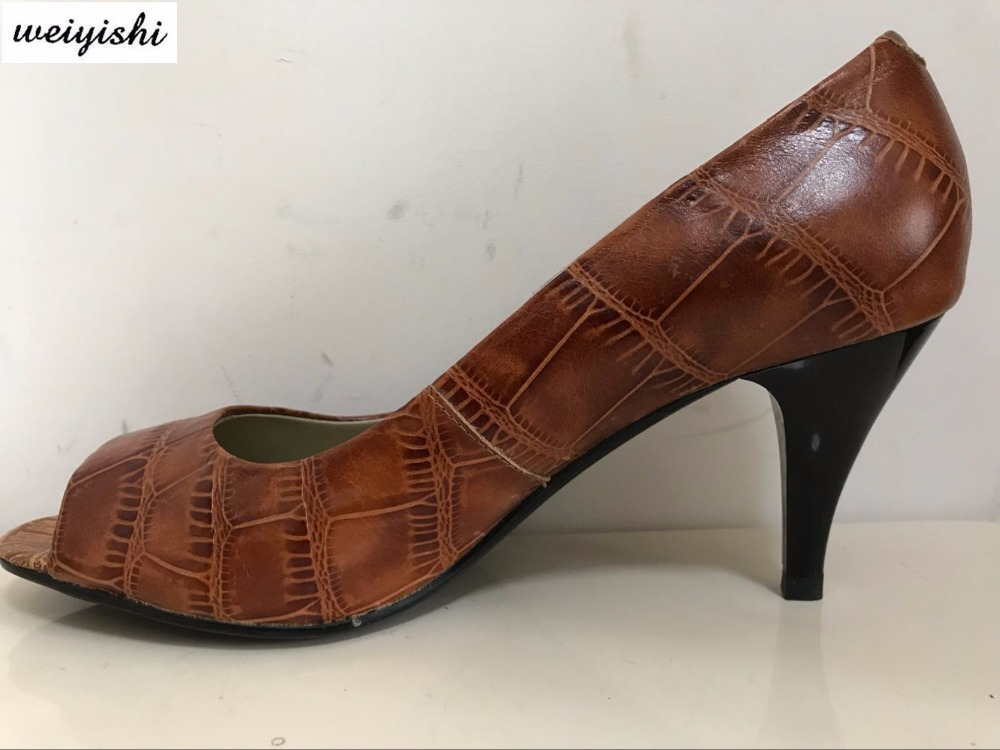 2018 women new fashion shoes lady shoes weiyishi brand 036