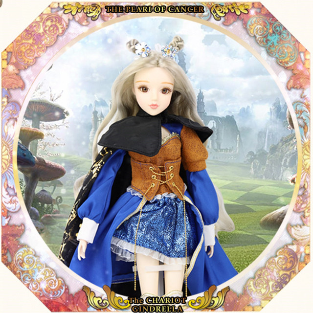 BJD Blyth doll MM Girl Tarot Series 35cm Joint body doll Name is The  Chariot Silver hair East Barbi-in Dolls from Toys & Hobbies on  Aliexpress com |