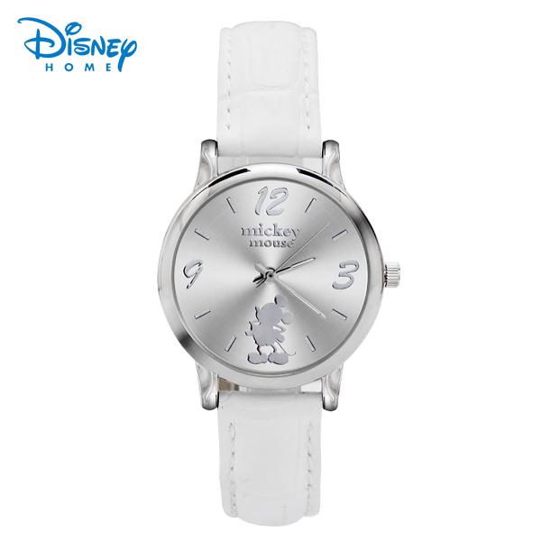 Prix pour 100% Véritable Disney Mickey montre De Luxe Quartz montre Mode Femmes Montre Dames Montre-Bracelet relojes mujer montre femme 84201