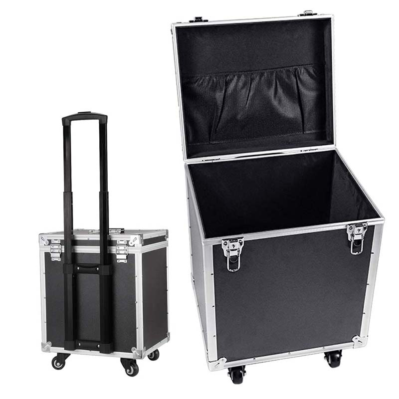 LeTrend High Quality Rolling Luggage Engineering/Instrument Box Portable Toolbox Suitcase Wheel Multifunction Trolley Travel Bag