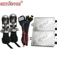 F5 55W Fast Bright Hid Kit H4 HID Headlight Xenon Hid Kit High Low Bixenon Kit