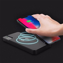 10000mAh QI Wireless Charger Power Bank For iPhone Samsung S8 S9 S7 Powerbank Type C USB External Battery