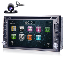 2din 100% New universal Car Radio Double 2 din Car DVD Player GPS Navigation In dash Car PC Stereo video+Free Map+Free Camera
