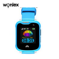 Wonlex Newest KT05 Kids Real Waterproof IP67 Swimming Watch SOS GPS GSM Wifi Camera 1.33 Inch IPS Touch Screen Sports Smartwatch