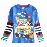 Wholesale NOVA Children Spring Autumn T Shirt Long Sleeve Clothing Baby Shirts Cotton Boys Kids Clothes