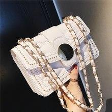 75d421f2f8262 ETAILL Diamant Gitter Frauen Designer Handtaschen Hohe Qualität Dame Stepp  Plaid Schulter Umhängetaschen PU Leder Ketten
