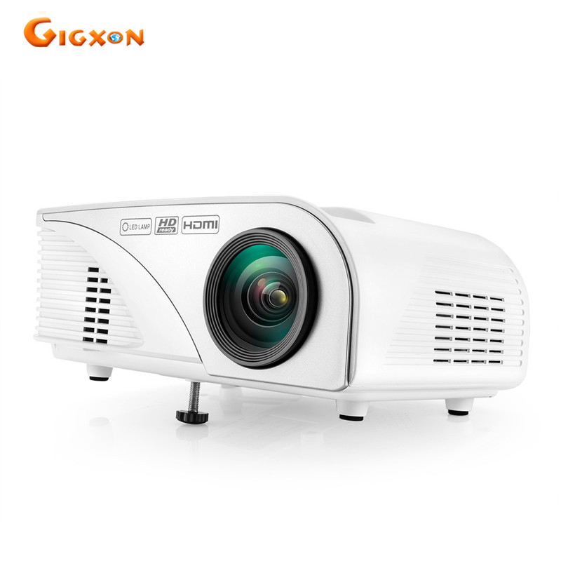 Gigxon g8005a 2016 latest 1200 lumens 800 480 home theater for T mobile mini projector