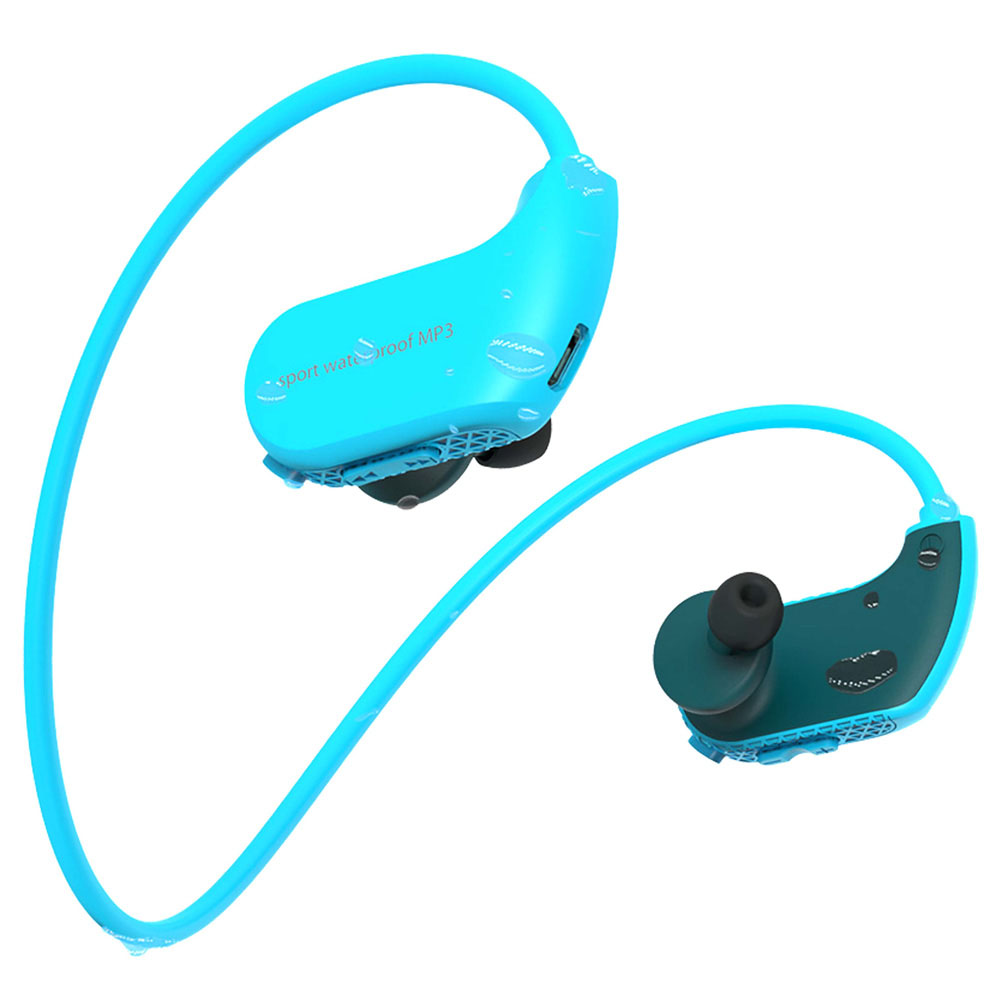 0827 waterproof MP3 earphone 1 (1)