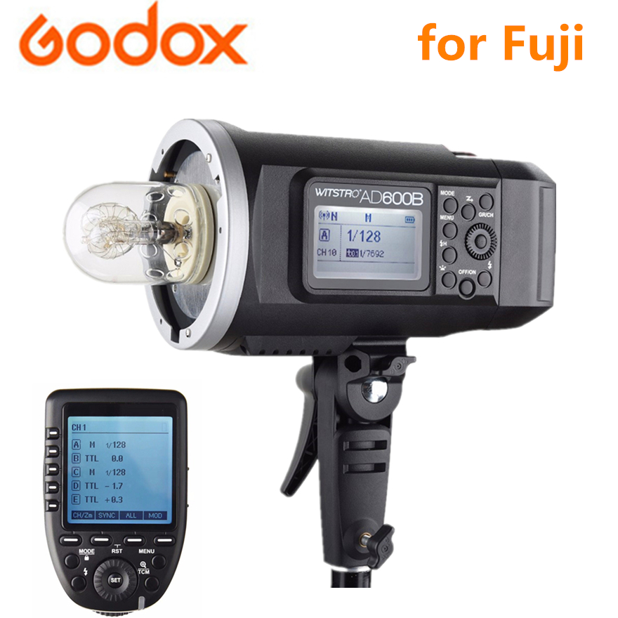 Outdoor Flash Godox AD600B 600Ws TTL HSS with 2.4G X System (Bowens Mount) + Xpro-F Wireless Remote Trigger for Fuji
