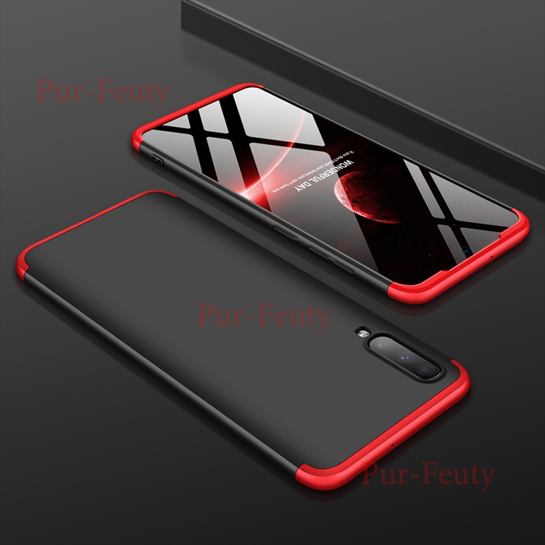 Case For Samsung Galaxy A70 2019 70A A705FD Hard 3 In 1 Matte Armor Hybrid Protective Back Cover For A 70 2019 A705 SM-A705FN/DS image