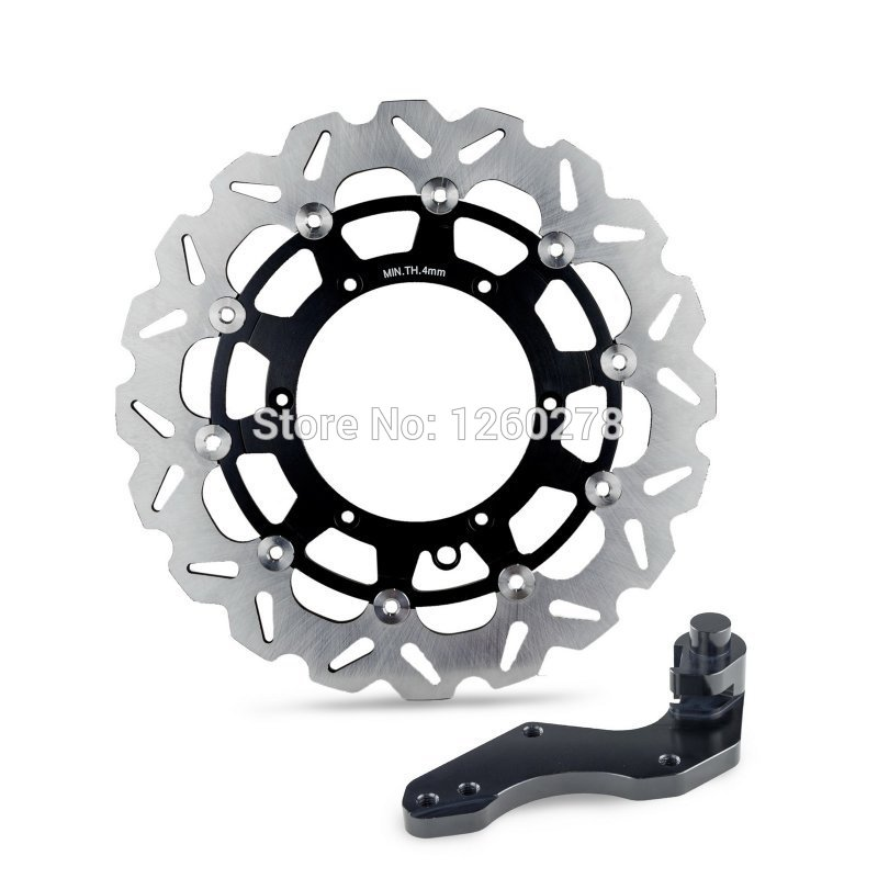 Motorcycle 320mm Brake Disc Rotor & Bracket For KTM 125 200 250 300 350 400 450 505 525 540 SX SXF EXC XC MXC LC4 SUPERMOTO motorcycle front rider seat leather cover for ktm 125 200 390 duke