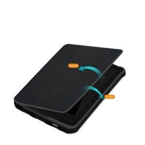 Image 5 - Funda Universal para Amazon PocketBook, Touch Lux, 4/627, 616, 632, Wake Sleep Print, Fundas de cuero con tapa