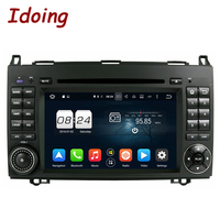 Idoing 8Core 2Din 4G 32G Android 8 0 Steering Wheel For Mercedes Benz W169 W245 Car