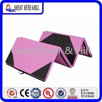 Durable 2.4mx1.2mx3cm Multifunctional Oxford Blue Folding Gym Mat Gymnastics Aerobics Exercise Sports mat