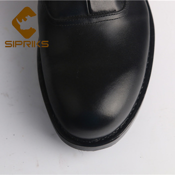 Prom Shoes Flats | Sipriks Mens Genuine Cow Leather Black Dress Oxfords Leather Sole With Rubber Boss Custom Goodyear Welted Shoes Gents Suit Flats