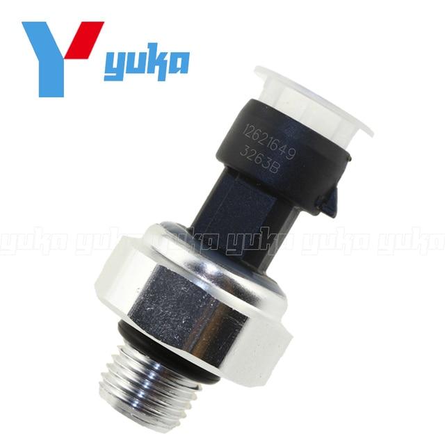 US $19 5 |Hot Sale For All V6 Holden COMMODORE VZ VE 3 6L LEO LY7 Rodeo RA  Oil Pressure Switch Sensor 12621649 12674782-in Pressure Sensor from