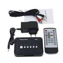 720 p Media Center RM/RMVB/AVI/MPEG HDD TV Player avec USB et MMC Port de Baisse gratuite