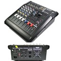 Pro 4 Channel Live Studio Audio Mixers Mixer Mixing Console 800W Power Amplifier