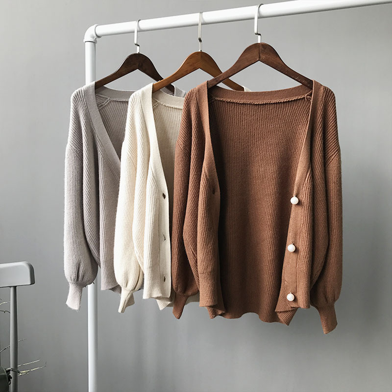 Brown Sweater Coat Promotion-Shop for Promotional Brown Sweater ...