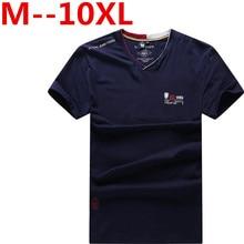 10XL 9XL 8XL 7XL 6XL 5XL 4XL 2017 sommer stil T-shirt männer beiläufige druck kurzarm baumwolle t-shirt slim patchwork t-shirt Top