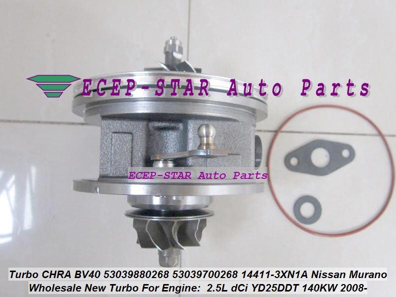 Turbo Cartridge CHRA BV40 54409880014 54409700014 A6710900780 A671090078080 For Ssang Yong Rexton 3 TURISMO 4WD D20DTR 2.0L XDITurbo Cartridge CHRA BV40 54409880014 54409700014 A6710900780 A671090078080 For Ssang Yong Rexton 3 TURISMO 4WD D20DTR 2.0L XDI