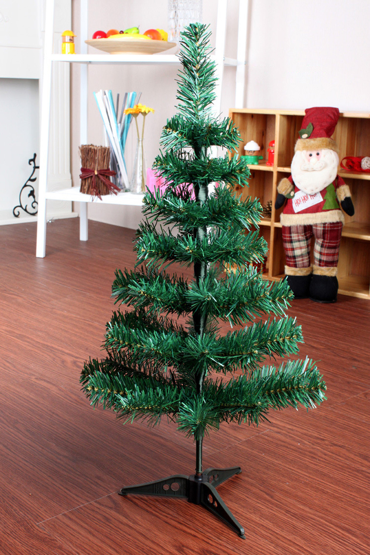 MUQGEW Artificial Christmas Tree LED Multicolor Lights Holiday ...