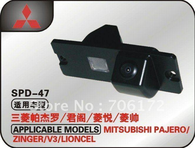 imágenes para Fábrica que vende ccd coche cámara de marcha atrás del coche cámara trasera cámara de visión trasera cámara del coche dvd gps para mitsubishi pajero/zinge/v3/v93