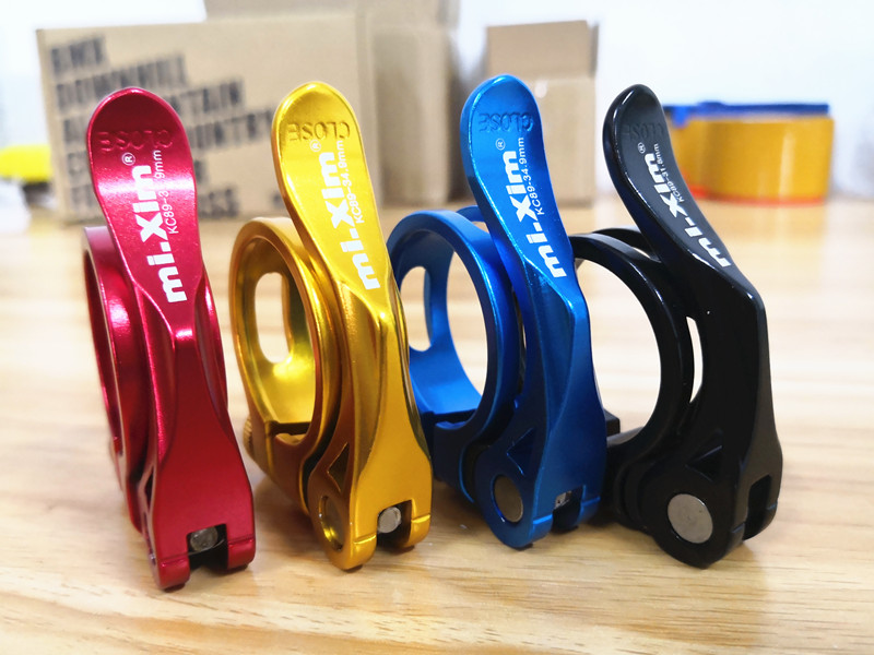 31.8mm MTB Bike Cycling Saddle Seat Post Clamp Quick Release QR Style New