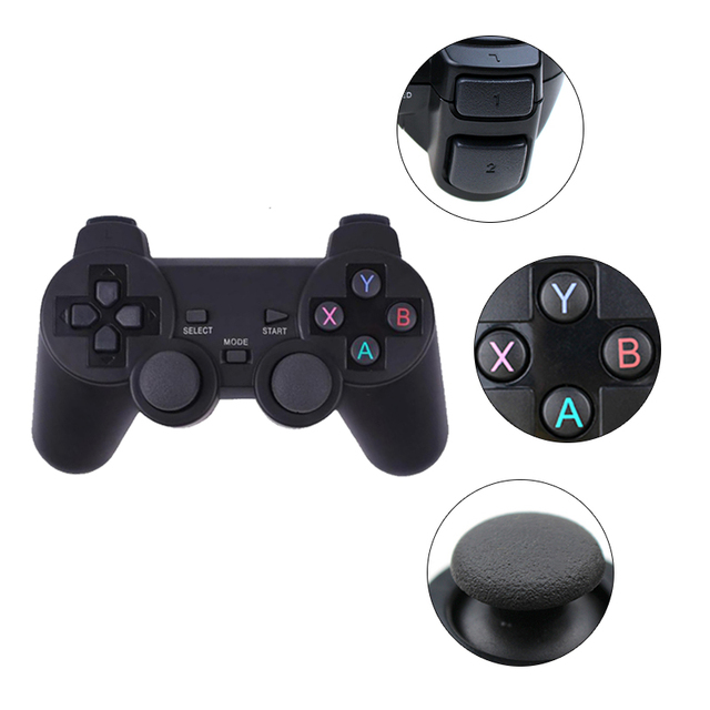 Wireless Gamepad PC For PS3 Android Phone TV Box 2.4G Wireless Joystick Joypad Game Controller Remote For Xiaomi OTG Smart Phone