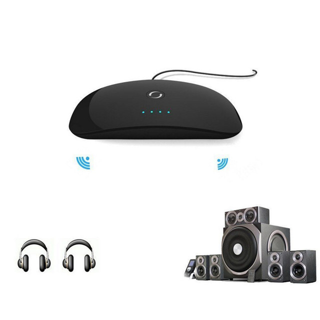 2 in 1 Wireless Bluetooth Audio Transmitter & Receiver A2DP ZF-370 Bluetooth Audio Adapter Portable Audio Player 3.5mm AUX-IN