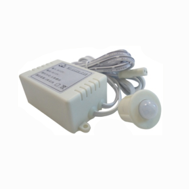 6pcs/lot automatic PIR spilt body motion Sensor Switch for led bar light led strip DC 12V 3A infrared pir motion sensor switch for led light strip automatic dc 5v 30v 10a h028