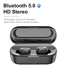 2019 Wireless Headphones Bluetooth 5.0 Earphones TWS  Bluetooth Stereo Sports Earbuds Headset Handsfree Earphone Microphone v8 voyager legend hands free wireless stereo bluetooth headphones car driver handsfree bluetooth headset earphones storage box
