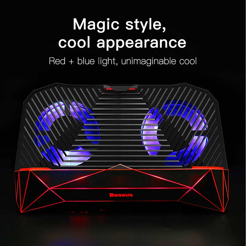 Baseus Gamer Case Heat Sink For iPhone X 10 8 Plus 4-6.3 Inch Games Cooling Cover For Samsung S9 S8 Plus Phone Radiator Holder