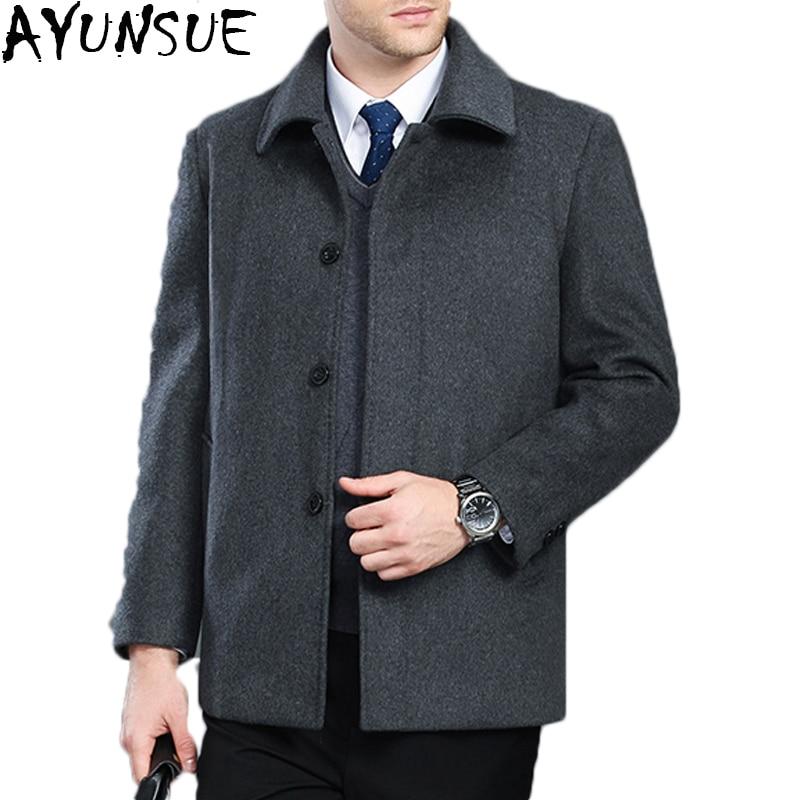 buy ayunsue winter jacket wool coat men. Black Bedroom Furniture Sets. Home Design Ideas