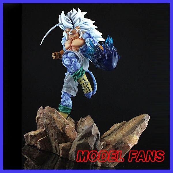 MODEL FANS Dragon Ball Z Super Saiyan 5 Trunks gk resin statue figure toy for Collection model fans in stock dragon ball z 35cm super saiyangoku and time house gk resin statue figure for collection