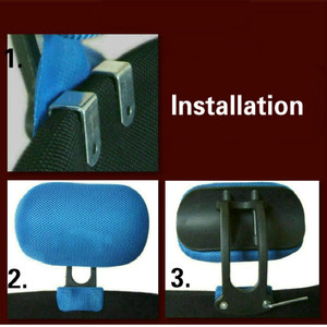 Image 3 - Регулируемый подголовник Офисный Компьютерный поворотный подъемный стул защита шеи Подушка офисное кресло аксессуары бесплатная установка
