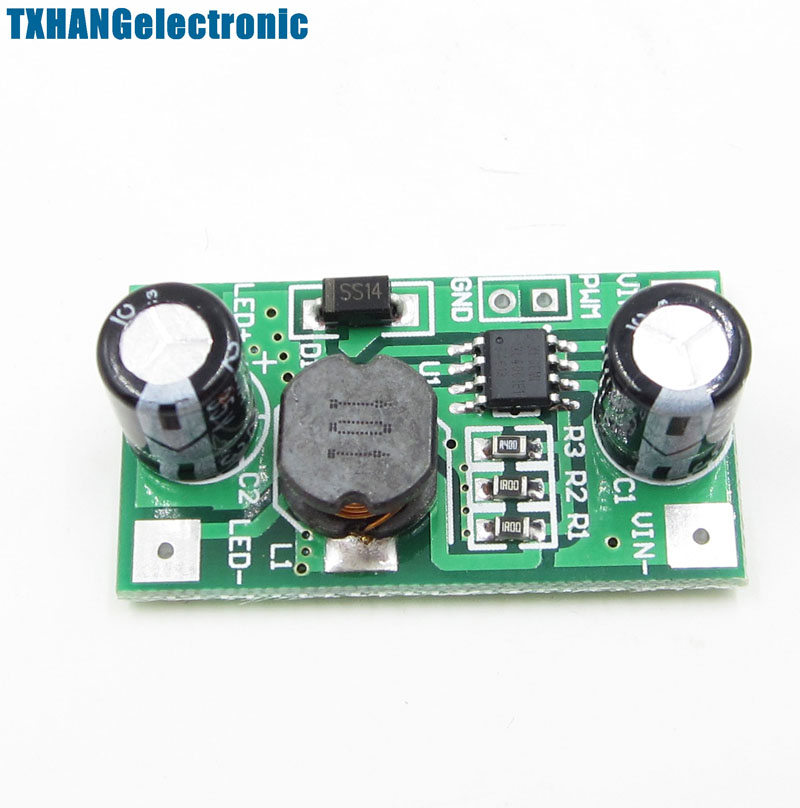 DC-DC 5-35V To 700mA Step Down Buck Power Supply For Arduino CC/CV  Step-Down Power Module PWM Dimming LED Driver