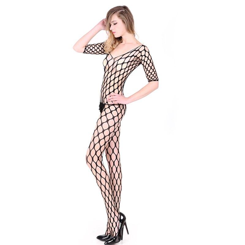 2019 Essential Mesh Erotic Sexy Lingerie Lady  Fishnet lure Pajamas Women Underwear Nightwear Lenceria
